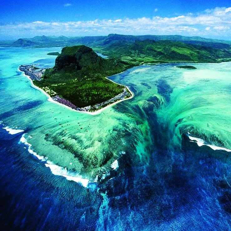 Underwater Waterfall Mauritius Unknown Mystery Hello