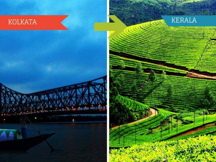 Top 2 Travel Agents for Kerala from Kolkata
