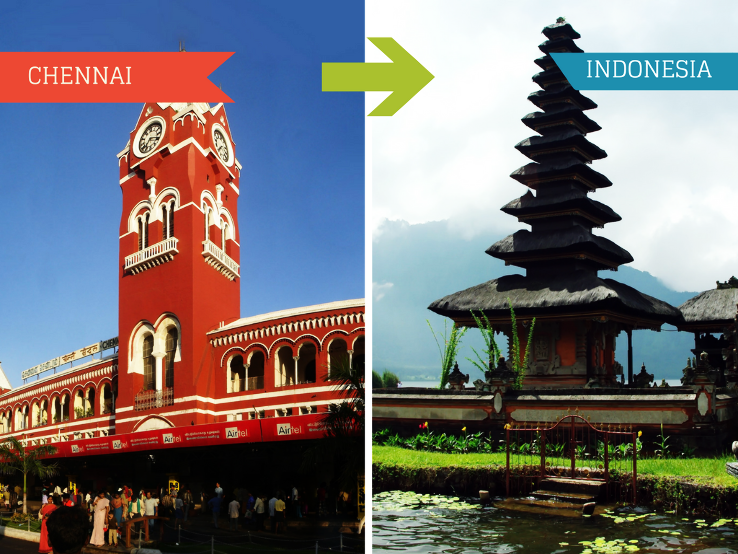 Top Travel Agents for Indonesia from Chennai
