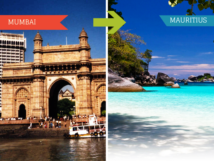 Top Travel Agent for Mauritius from Mumbai