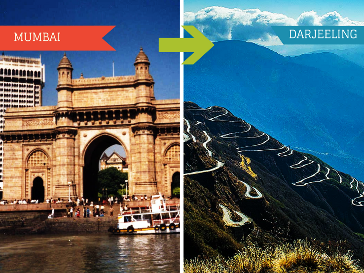 Top Travel Agent for Darjeeling from Mumbai