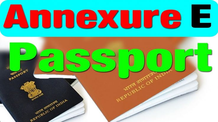 Important Things About Annexure E For A Passport That You Must Know