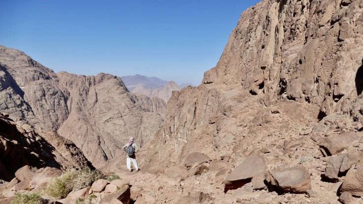 Red Sea Mountain Trail, the brand new hiking trail just opened in Egypt
