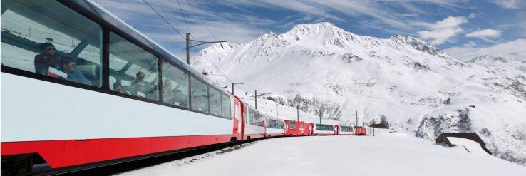 Switzerland's Glacier Express train just got even more spectacular