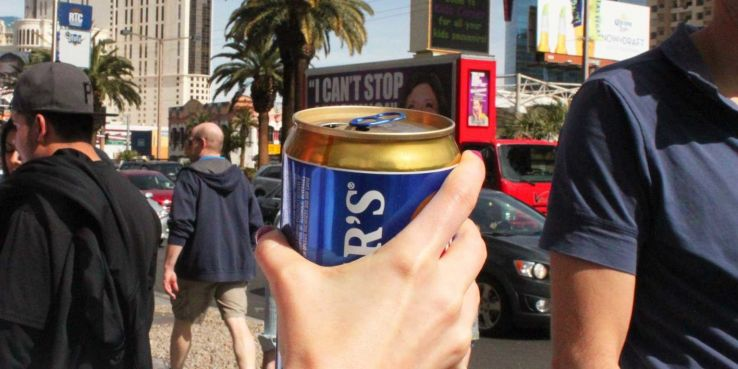 Cities in US where you can drink on streets