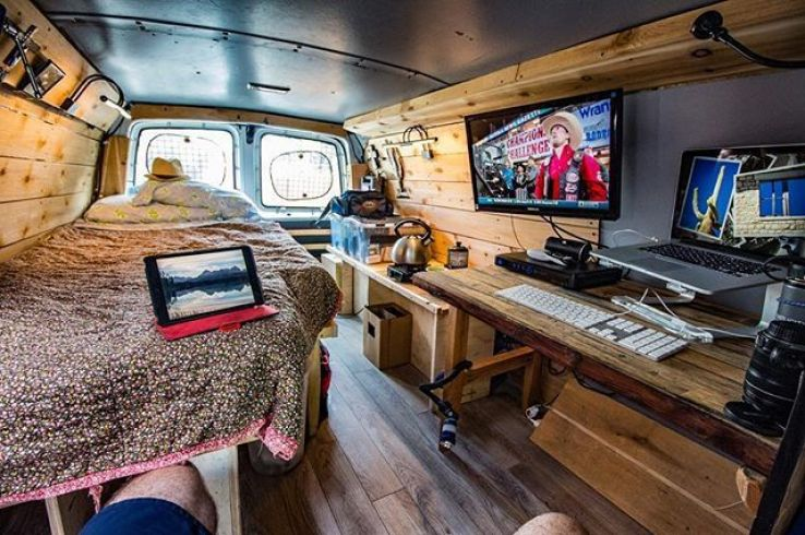 These travellers quit their daily jobs to live their lives in a van