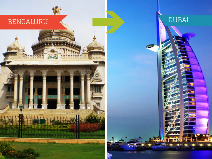 Top 2 Travel Agents for Dubai from Bangalore
