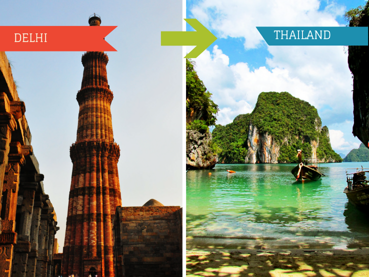 Top 7 Travel Agents for Thailand from Delhi