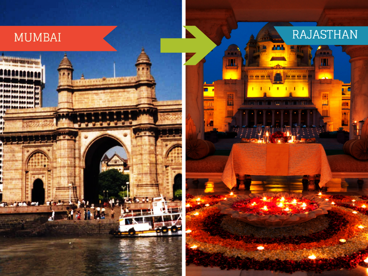 Top Travel Agents for Rajasthan from Mumbai