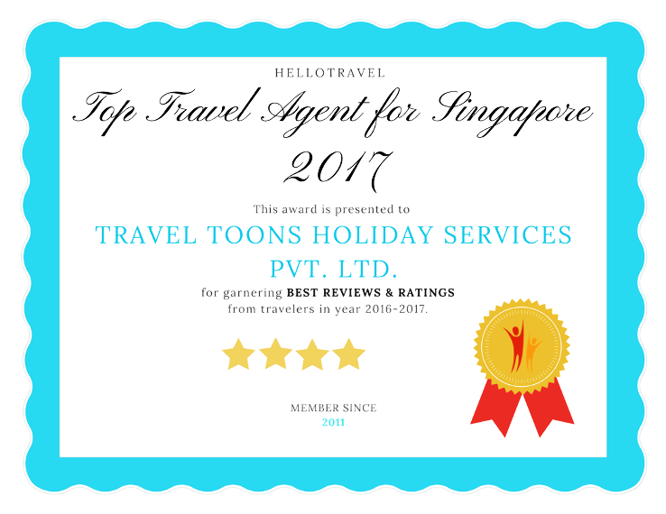 Top 15 Travel Agents For Singapore in 2017