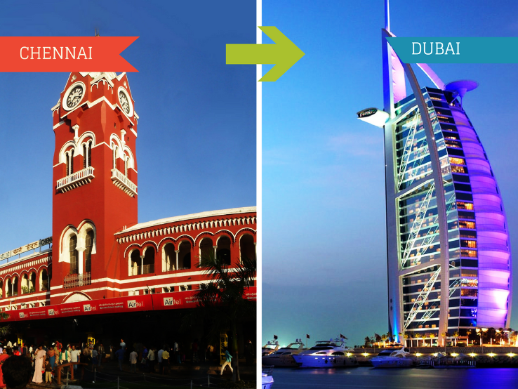 Top Travel Agent for Dubai from Chennai