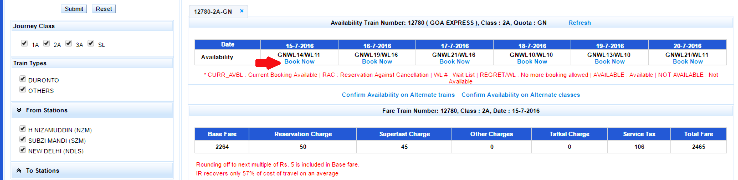 How to book a train ticket online