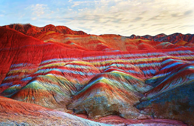 Mystical Rainbow Mountains Chinas Own Version Of Grand Canyon Hello Travel Buzz