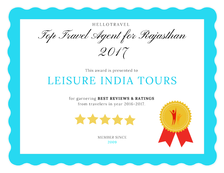 Top 10 Travel Agents for Rajasthan from Jaipur