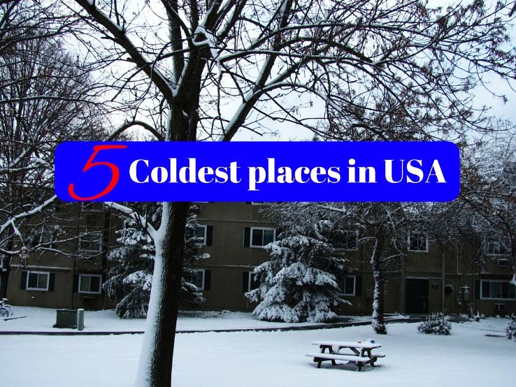 5 Coldest places in USA