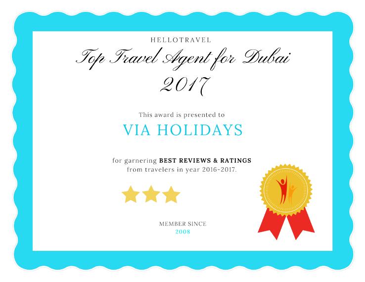 Top 7 Travel Agents for Dubai from Delhi