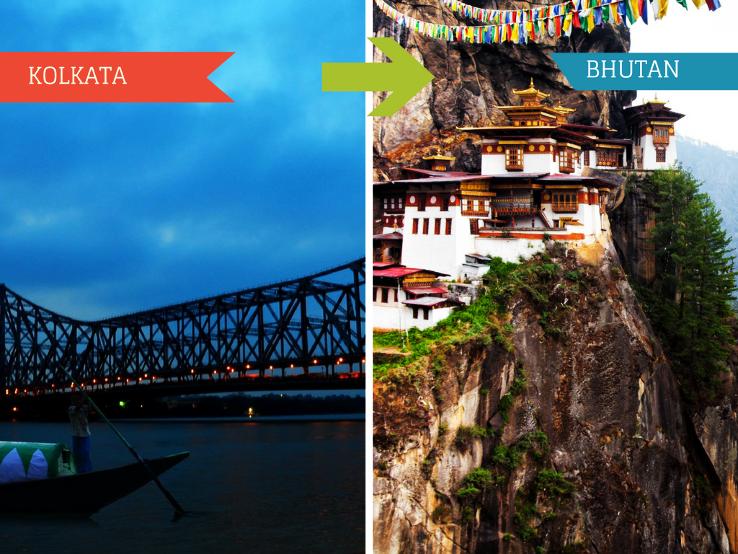 Top Travel Agent for Bhutan from Kolkata