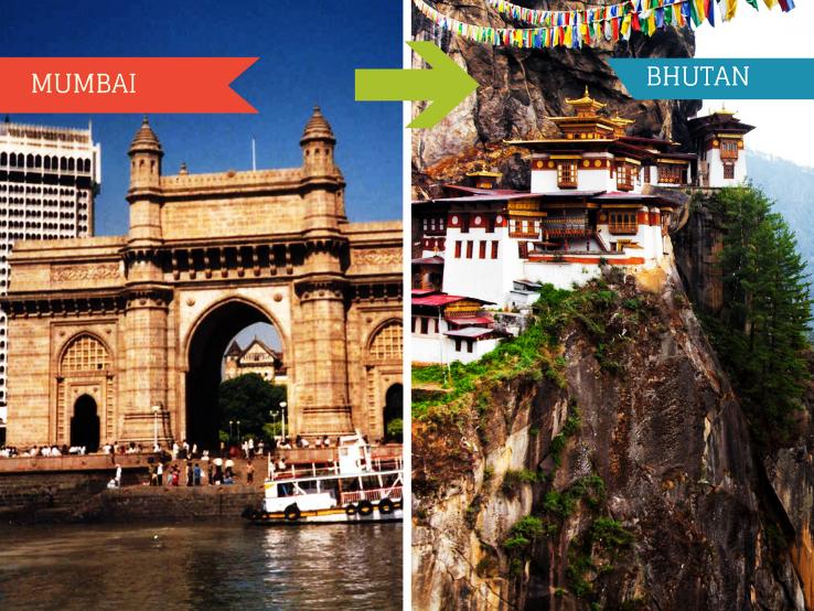Top Travel Agent for Bhutan from Mumbai