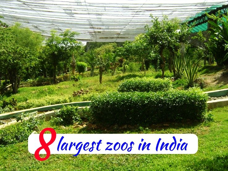 8 largest zoos in India