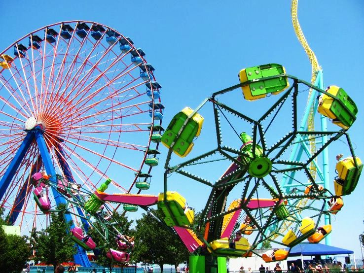 Best theme parks which give a fair competition to Disney Land