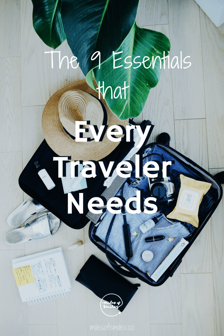 Essential travel items every traveler should pack