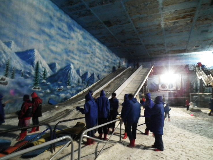 Snow Park At Khopoli Maharashtra Introduced By Imagica For Entertaining Guests