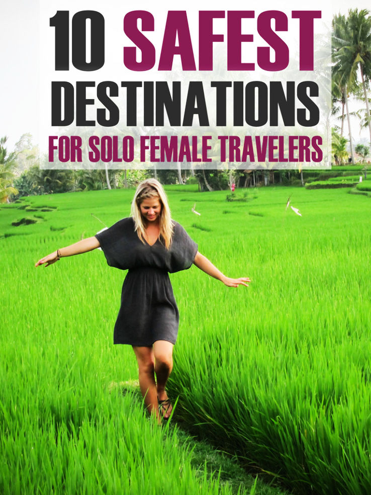 8 Safest destinations for Solo Woman Travellers
