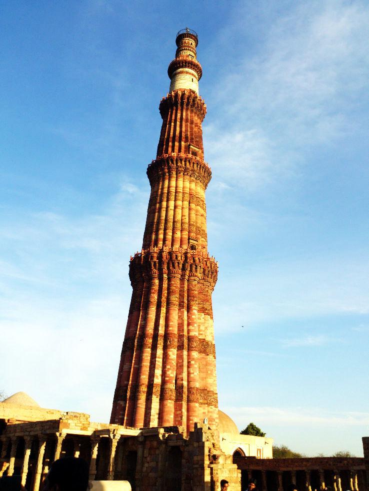 Qutub Minar Is Worlds Tallest Brick Minaret Hello Travel Buzz