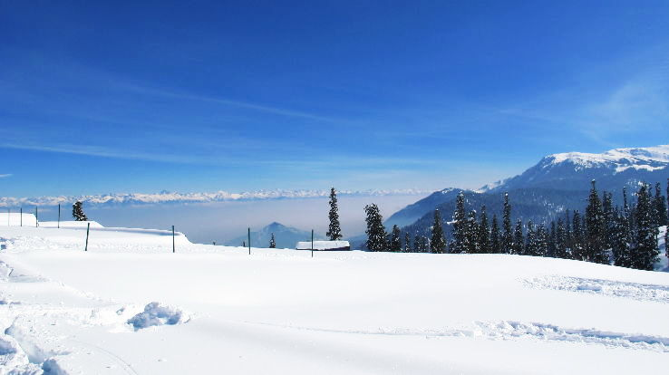 10 Great Places To See Snow Fall in India