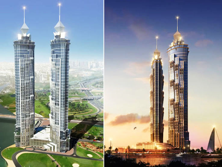 Top 10 Tallest Hotels In The World 1 JW Marriott Marquis