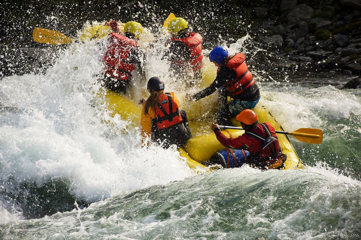 Best places for rafting in Russia