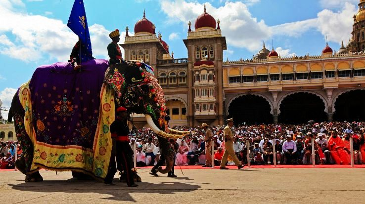 Mysore Dasara Procession Celebrations