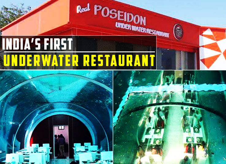 First Underwater Restaurant Open In India In Ahmedabad