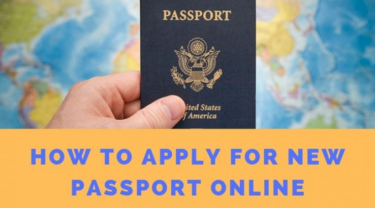 How To Apply For New Passport Online