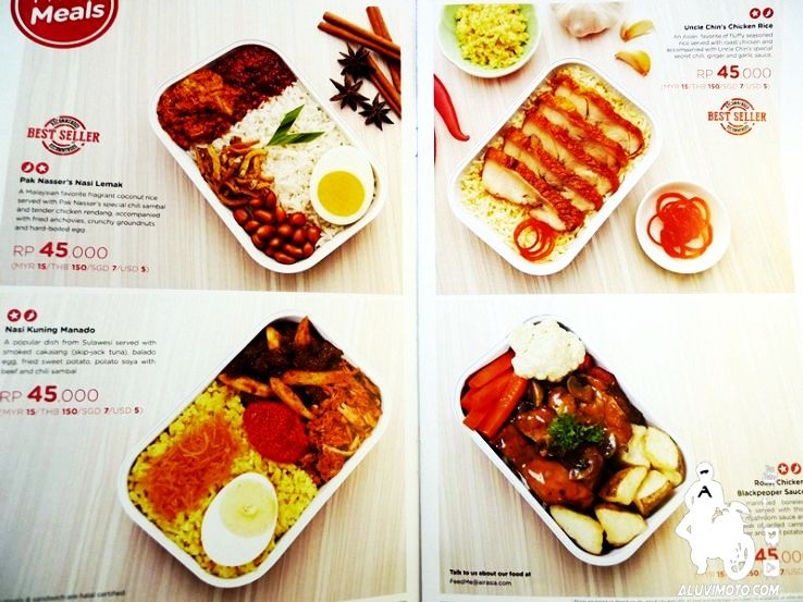 Airasia Food Review