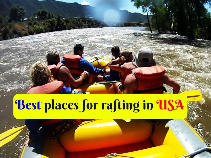 Best places for rafting in USA