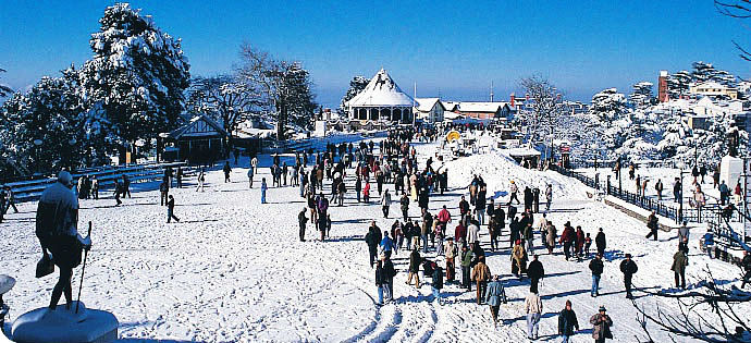 Simla in winter