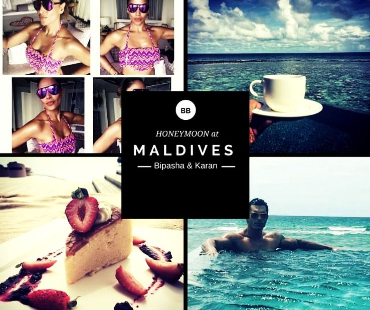 Bipasha Basu's latest honeymoon photos & videos will put 'Maldives' in your bucketlist!