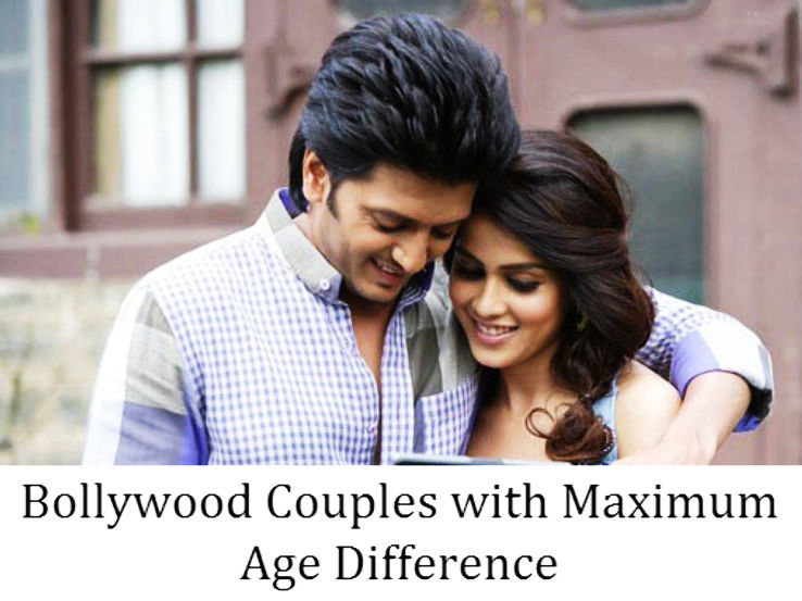 Bollywood Couples with Maximum Age Difference