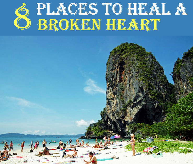 8 Places To Heal A Broken Heart