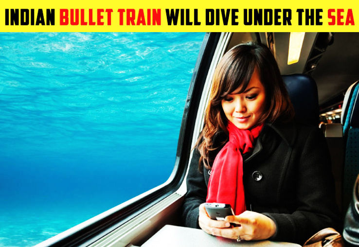 India's First Bullet Train Will Dive Under The Sea At Thane!