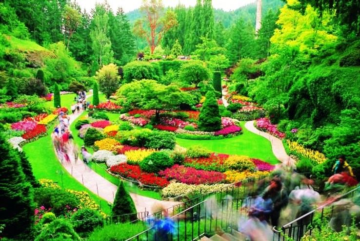10 Most Beautiful Gardens in the World Powers court Garden