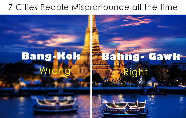 7 Cities people mispronounce all the time