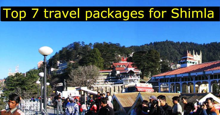 7 Best packages of Shimla