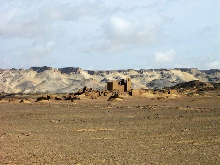 Holidaying Around The Remains Of The Ancient Bakery In Egyptian Desert