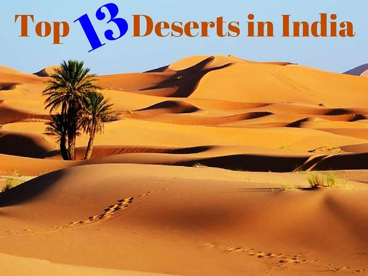 Top 13 Deserts in India