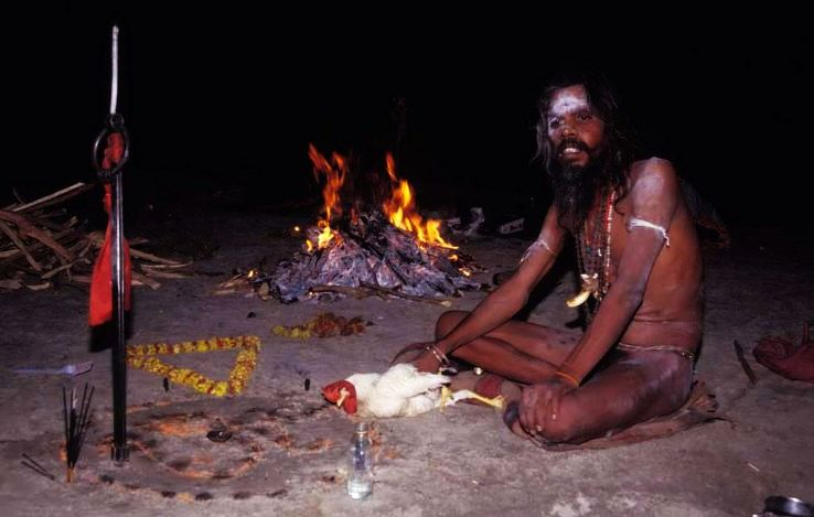 Why aghori sadhus eat human flesh