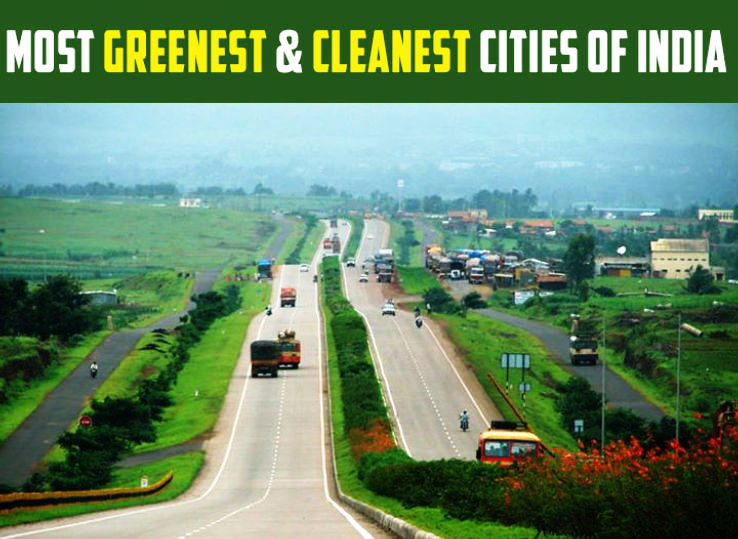 Most Greenest And Cleanest Cities Of India