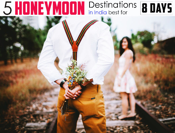 5 Best Honeymoon Destinations in India for 8 days