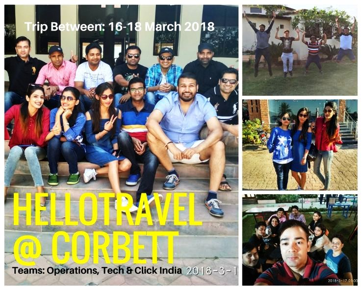 HelloTravel Team Visits Jim Corbett National Park The Land of Greens and The Wild